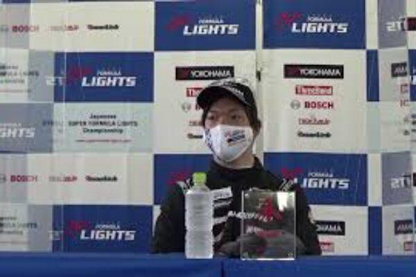 2021 Super Formula Lights Rd 11 記者会見